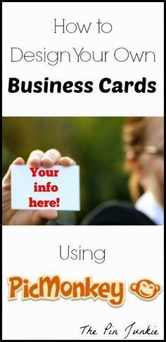 Full Tutorial on How To Make Your Own Fully Customized Business Cards.