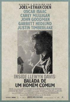 """""""Inside Llewyn Davis – Balada de um Homem Comum"""" teve divulgado seu cartaz http://cinemabh.com/imagens/inside-llewyn-davis-balada-de-um-homem-comum-teve-divulgado-seu-cartaz"""