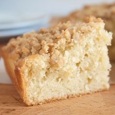 Tropical Coconut Crumb Cake - can be D- friendly