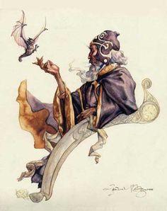 Iain McCaig, Wizard