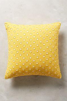 Anthropologie EU Perforated Dot Cushion