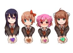 Hearts Oki Doki, Psychological Horror, Hot Anime Boy, Literature Club, Fun Games, Awesome Games, Indie Games, Yandere, Game Character