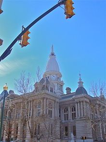 Lafayette, Indiana - Tippecanoe County Courthouse