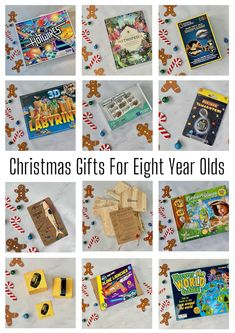Christmas Gifts for Eight-Year-Olds Christmas Gifts For Eight Year Olds, Holiday Gift Guide, Holiday Gifts, Fishing Kit, Science Kits, Top Toys, Blog Love, Mud Pie, Toys Shop
