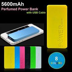 2017 Newest ultra slim thin battery pack portable power bank backup power source Charging external power packs Usb, Perfume, Slim, Fragrance