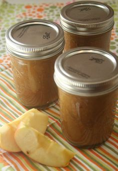I love to make canned goods for friends and this week I learned a new  recipe…