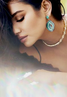 7b60bf1a781 Shay Mitchell for BaubleBar fashion jewelry photoshoot 2016 Shay Mitchell