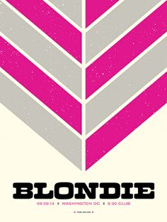 Welcome to Tone Ink :: Rock Posters & Art Prints Rock Posters, Band Posters, Concert Posters, Music Posters, Blondie Concert, Graphic Design Posters, Blondies, Design Inspiration, Debbie Harry