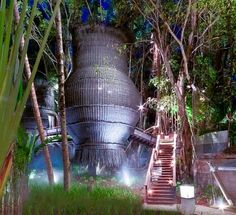Coqoon Treetop Spa, Indigo Pearl Resort, Phuket. Suspended from a giant Banyan tree!