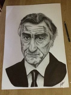 Robert DeNiro portrait  #robertdeniro #portrait #drawing #art #artwork
