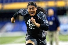 Ed Wang | First-ever Chinese-American player drafted to the NFL #ethniccool