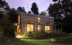 Moderno, ILLE Case in Legno, tecnologia, esperienza ed affidabilità nella costruzione di edifici in legno CasaClima e bioedilizia ad elevate prestazioni energetiche