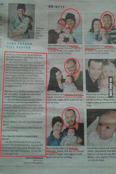 Chico sueco embaraza a cuatro mujeres