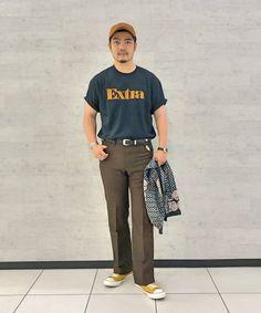 Japan Men Fashion, Mens Fashion, Normcore, Hat, Style, Moda Masculina, Chip Hat, Swag, Man Fashion