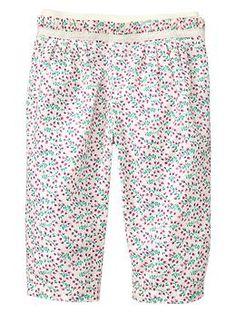 Ruffled woven summer pants | Gap $26.95