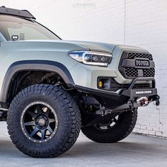 """2018 Toyota Tacoma Aggressive > 1"""" outside fender on 17x8.5 0 offset Icon Alloys Rebound and 305/70 Nitto Ridge Grappler on Suspension Lift 2.5"""" - Custom Offsets Gallery Tacoma Wheels, Nitto Ridge Grappler, Trd Pro, Tyre Fitting, Wheels And Tires, Toyota Tacoma, Rebounding, My Ride, The Outsiders"""