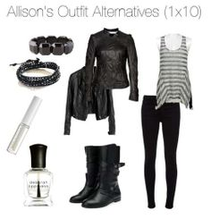 Allison Argent inspired outfit-- I've been wanting this one ever since I first saw it!