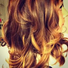 Balyage. Highlights. Layers. Peekaboo.