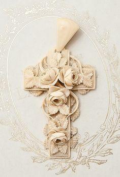 Lovely ivory cross