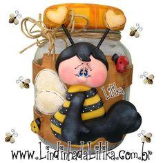 .pote de mel