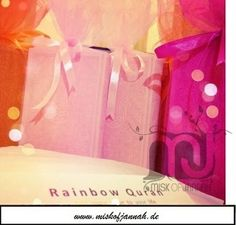 Sieh dir weitere Produkte an unter www.de Check out more of our products on www. Niqab, Islam Quran, Muslim, Rainbow, Instagram Posts, Blog, Products, Prayer, Rainbows