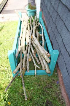 We offer the natural materials for simple things like Den Building.