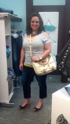 Store Manager Jo Ann getting ready for summer <3