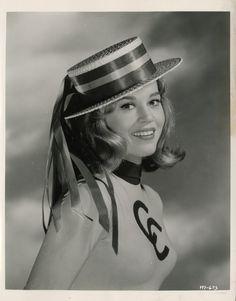 Jane Fonda for Tall Story directed by Joshua Logan, 1960