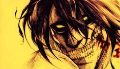 Titan Attack on titan. 進撃の巨人. Shingeki no Kyojin. Anime. Illustration. Sketch Атака титанов. #SNK. #AOT