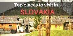 Slovakia generally escapes attention but with these top places to visit you won't need any other reasons to book your flight and go to Slovakia right away!