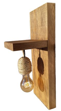 Driftwood Furniture, Driftwood Lamp, House Furniture Design, Home Furniture, Retro Rad, Rope Pendant Light, Container House Design, Wooden Lamp, Woodworking Projects Diy