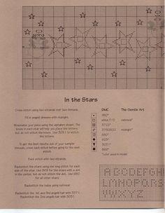 Schematic cross stitch In The Stars 02