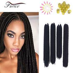 Faux Locs Marley Hair Synthetic Crochet Twist Hair Havana Mambo Faux Locs Weaving Goddess Faux Locs Crochet Twist Braids