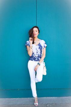 The Chriselle Factor // Blue Dye