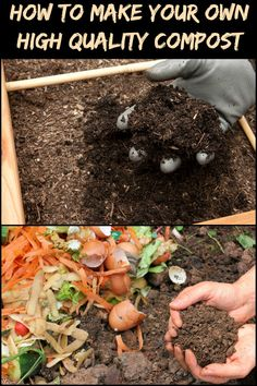 Compost is on of the most important supplements to add to the soil you will use for gardening. Humus rich in nutrients will encourage you. Garden Compost, Hydroponic Gardening, Hydroponics, Organic Gardening, Container Gardening, Gardening Tips, Greenhouse Farming, Vegetable Gardening, Composting Methods