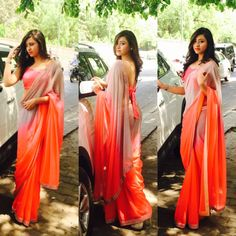 get traditional with saree