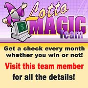 Visit a Lotto Magic team member banner. When you join us in Lotto Magic we work to help you build YOUR team through free advertising and marketing - it works. Magic Team, Lottery Tickets, Free Advertising, Team Member, Workplace, Free Stuff, Learning, Banner, Join