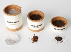 Thé des Bois – Tea Packaging by Marie-Andrée Pelletier Cyr