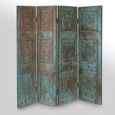 Classic Vintage Wooden Room Divider Screens We Have In