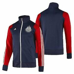 Adidas Men's Chivas Track Top by adidas. $69.99. Team-colored. Machine Washable. Fashionable. Crest: embroidery. Embroidered CHIVAS wording.