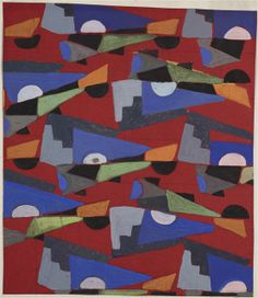 Frances Hodgkins, Untitled (Textile design no VIII), circa 1925, gouache, Collection: Te Papa. Purchased 1998 with New Zealand Lottery Grants Board funds.