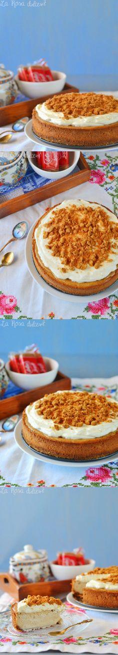 Lotus cheesecake / http://www.larosadulce.com/