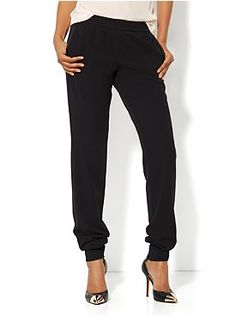 Banded Ankle Soft Pant from New York & Company