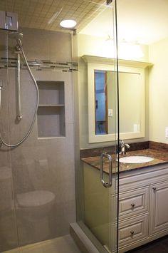 After Coleman Dias³ Construction Inc Family Room 3 Piece Bathroom Renovation