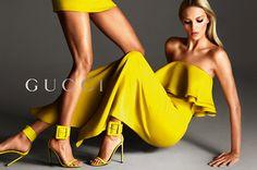Gucci Spring/Summer 2013 ad campaign, Anja Rubik, Karmen Pedaru, Mert & Marcus, Mario Testino