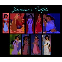 Jasmine's Outfits, created by tigressofindia on Polyvore