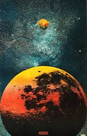 Image result for retro space illustration