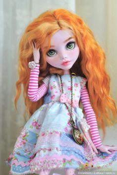 Рыжая рыжая... ООАК Monster High в размере страшно огромная / Куклы My Scene, Monster High, Монстер Хай от Mattel / Бэйбики. Куклы фото. Одежда для кукол