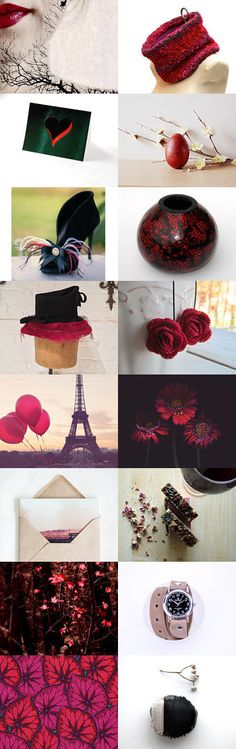 Contrasting Elements by Rose Baker on Etsy--Pinned with TreasuryPin.com
