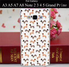 Dachshund Sausage Dog Weiner Protective Cover Case for Samsung Note 2 3 4 5 for Galaxy A3 A5 A7 A8 E5 E7 J5 J7 Grand Prime Grand 2 Case http://www.wish.com/c/57c6c0042250a22b823ec90f